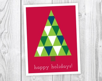 NOW 50% OFF! | Christmas Tree | Holiday Card