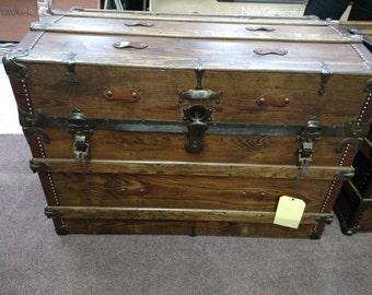 Beautiful Antique Trunk Number 109