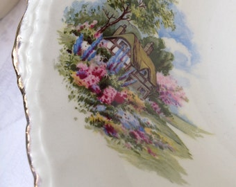 Lovely Large Cream Petal Grindley Vintage Bowl/Fruit Bowl/Serving Dish