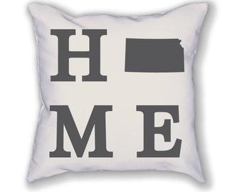 Kansas Home State Pillow