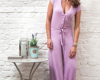 Casual but Chic Jumpsuit inspired by a original 70's style!