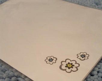 Floral Stationary Paper