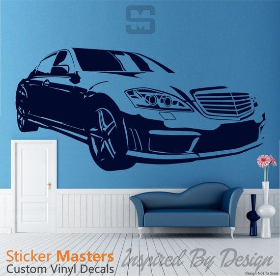 S550 mercedes benz decal s550 sticker mercedes by for Mercedes benz decals