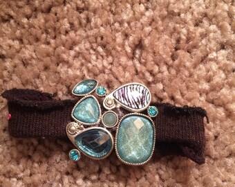 Embellished Scrunchie