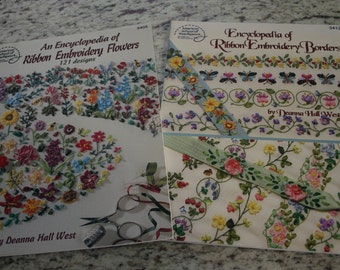 Silk Ribbon Embroidery Instruction Booklets