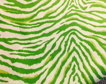 Zebra Print Cotton Fabric