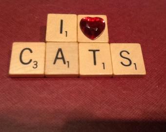 I Heart Cats (red heart)