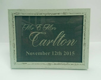 Personalised Occasion Frame