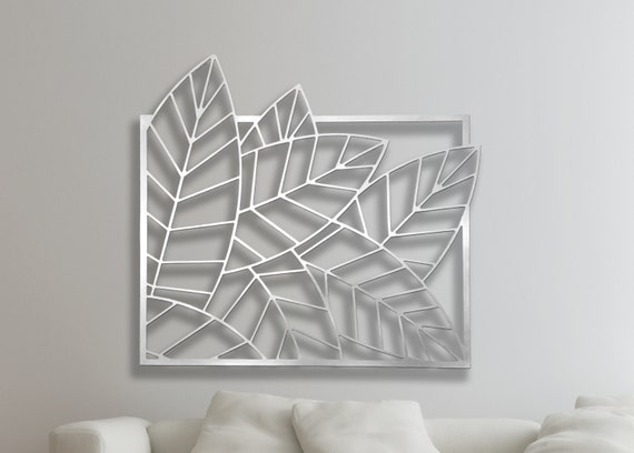 Cut Out Decorative Wall Panels : Laser cut metal decorative wall art panel sculpture for home