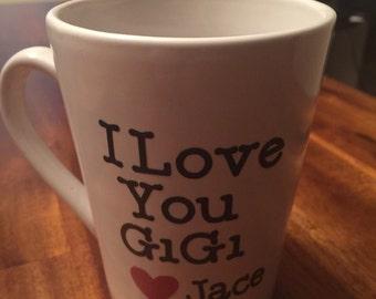 I love you gigi coffee mug