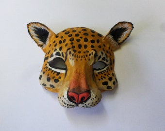 how to make animal masks paper mache