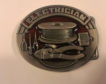 Electrician Belt Buckle