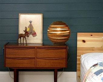 BUY 1 GET 2 Ball Lamp  - Free Shipping - Cardboard Ball Table Lamp | Bowl | Cardboard | Table Lamp | Floor Lamp | Eco - Friendly | Light