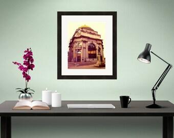 Bank of Buffalo NY, Buffalo Savings Bank Art Print, Fine Art Architecture Photography, Home Wall Decor Picture, Buffalove Photo, Photograph