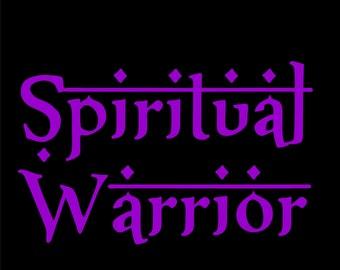 SPIRITUAL WARRIOR  printed T-shirts & Hoodies