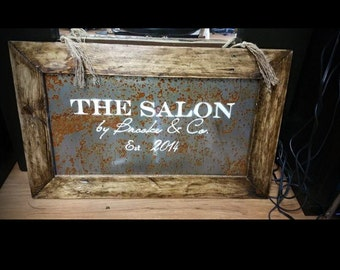 Custom sign. .Great for weddings ,anniversaries, or any occasion. .