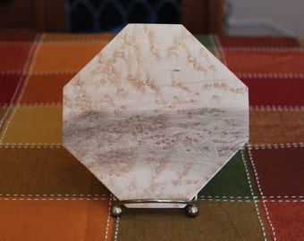 Birds Eye Maple Dish