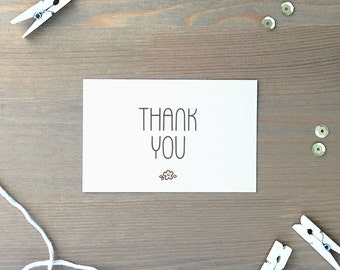 Gift Cards 10 pieces / Thank You (5,5 x 8,5 cm)