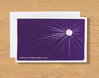 "Holiday Card ""Bright Holidays"" A9"