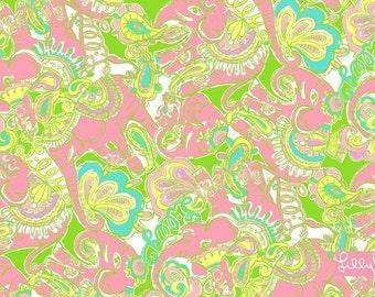 Chin Chin Lilly Pulitzer fabric
