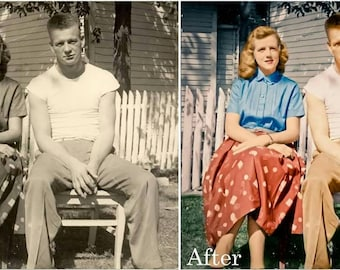 Photo Editing & Colorize