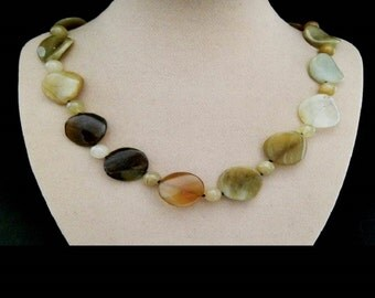 Jade, stone, beads, necklace, necklace, chain