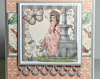 Elegant Handmade Greeting Card