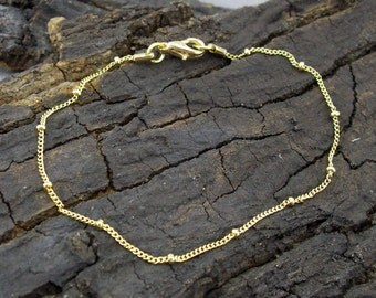 Bracelet balls bead beads gold