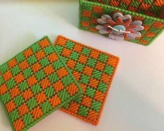 Double-Sided Coaster sets (2 choices)