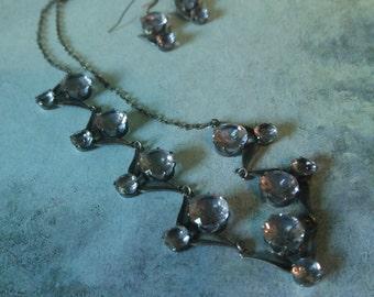 Wedding jewelry - Bridal jewelry - Choker necklace - Fine silver choker - VJR268