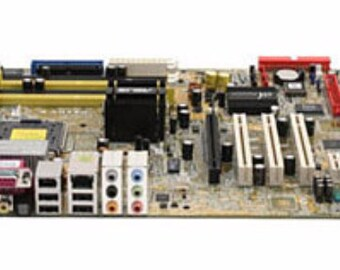 Asus P5AD2-E Deluxe motherboard with 3.4 Ghz CPU & Fan,  Intel 925XE