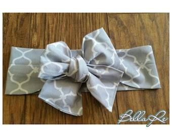 Slate Gray headwrap