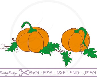 Pumpkin halloween cutting file, SVG files for cricut, Pumpkin cutting files, clipart Pumpkin, digital drawing, instant download, EPS files