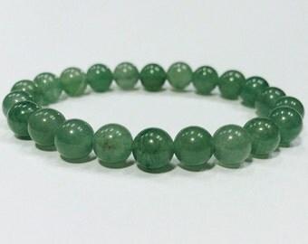 Ganesh bracelet mala,Jade bracelet,yoga bracelet,mala bracelet,boho bracelet,bohemian bracelet,green stone bracelet