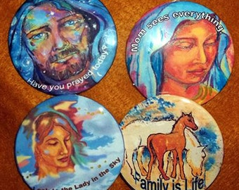 Artistic Expression Pins