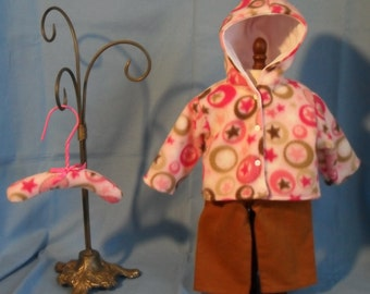 18 Inch American Girl Doll Hooded Jacket Outfit