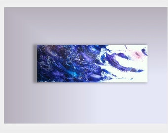 Contemporary art, absract painting, acrylic, Wave, Ocean