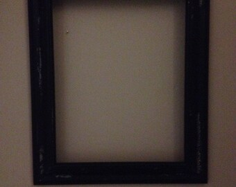 Black Antiqued 8X10 picture frame