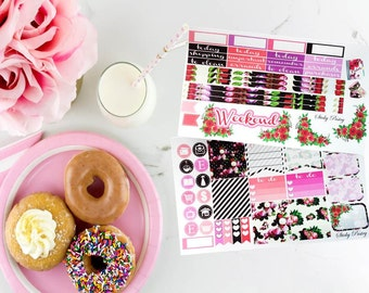 Peony Floral Weekly Planning Kit