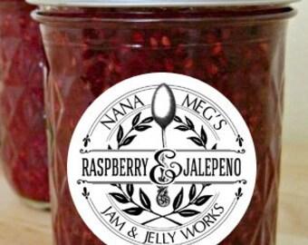 Raspberry-Jalapeno Jam