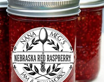Nebraska Red Raspberry Jam