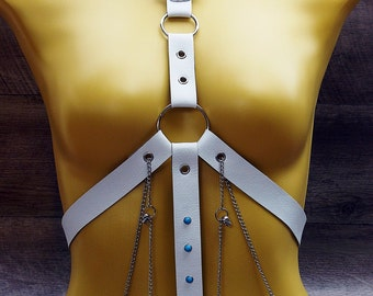 Body Harness with detachable collar