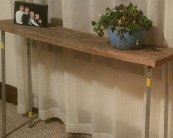 Reclaimed Lumber, Table from 1880 barn in Southern Indiana