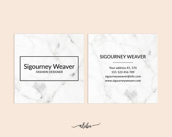 Business Card, Printable Business Card, Moo Template, Square Business Card, Custom business card, Moo business card, Business card design