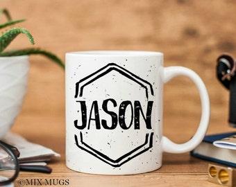 Boyfriend Mug, Mugs for Men, Man Mug, Coffee Mugs for Him, Personalized Mens Gift, Husband Mug, Dad Mug, Personalized Boyfriend Gift (M1811)