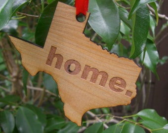 HOME Texas Ornament