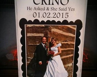 Wedding memories board! Personalized to you!