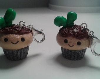 Garden Cupcake Charm