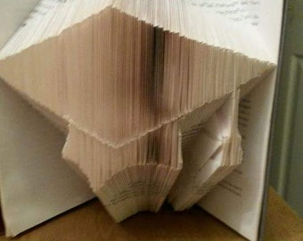 Graduation cap Bookfolding pattern