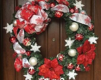"30"" Decorative Holiday Wreath"